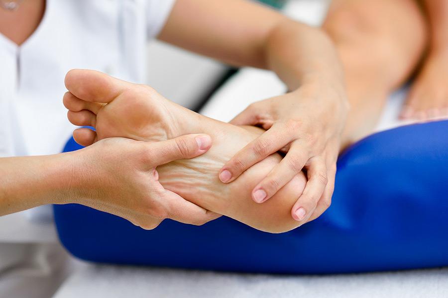 dolor de talones y espolones en el talón