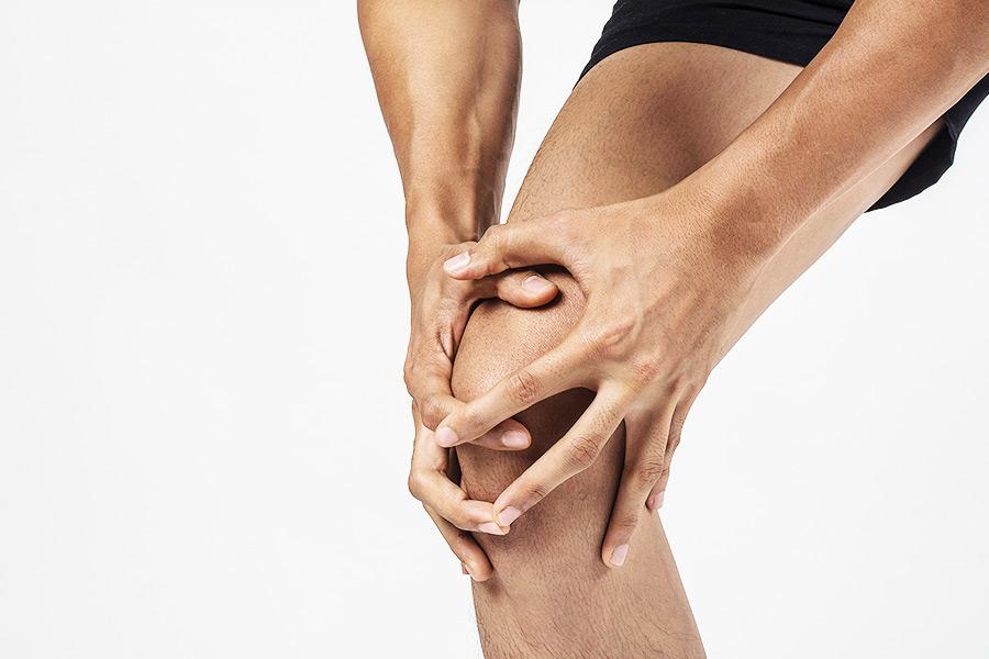 alivia los enguinces de rodilla en nuestro centro