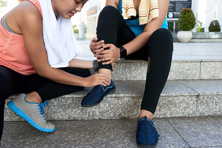 esguince de tobillo : grados y tratamiento con osteopatía